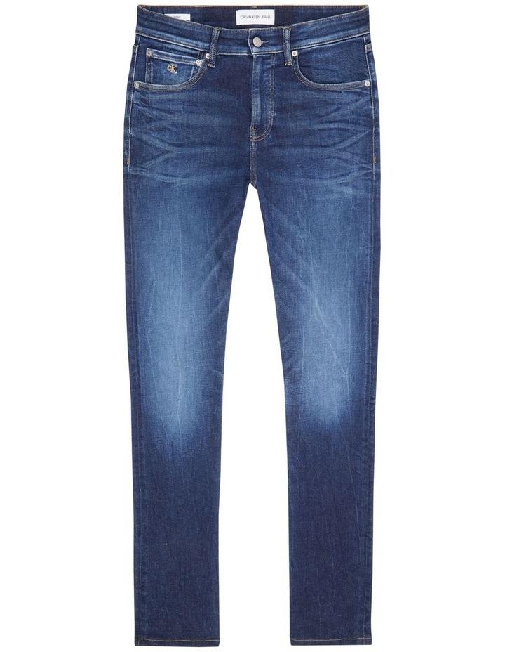 Skinny Jeans Dark Blue image 4