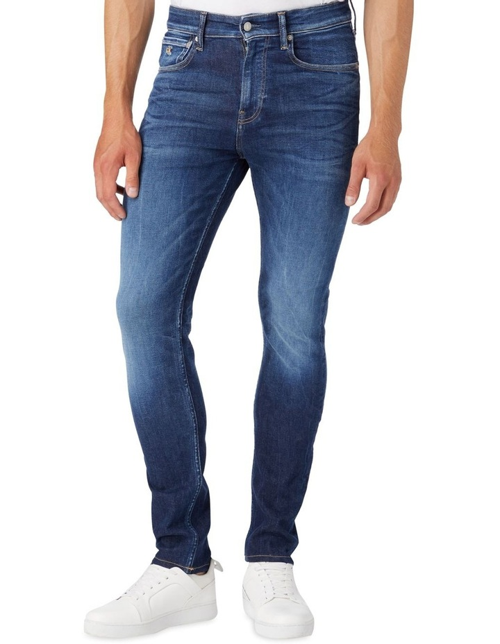 Skinny Jeans Dark Blue image 5