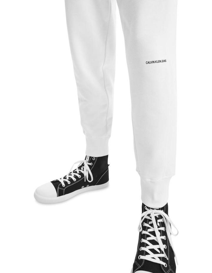Micro Branding Hawk Pant White image 3