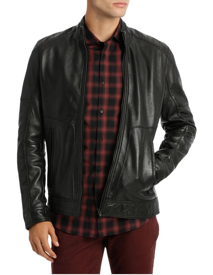 Golden Company Leather Biker Jacket image 1