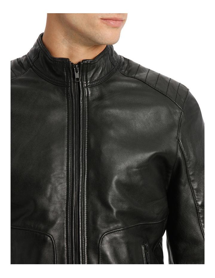 Golden Company Leather Biker Jacket image 4