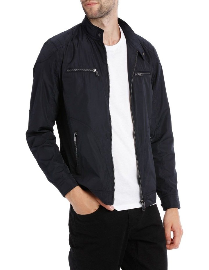 Navy Shoreditch Bomber Jacket image 2