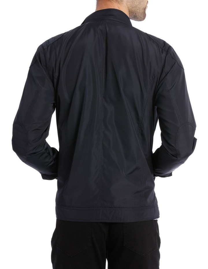 Navy Shoreditch Bomber Jacket image 3