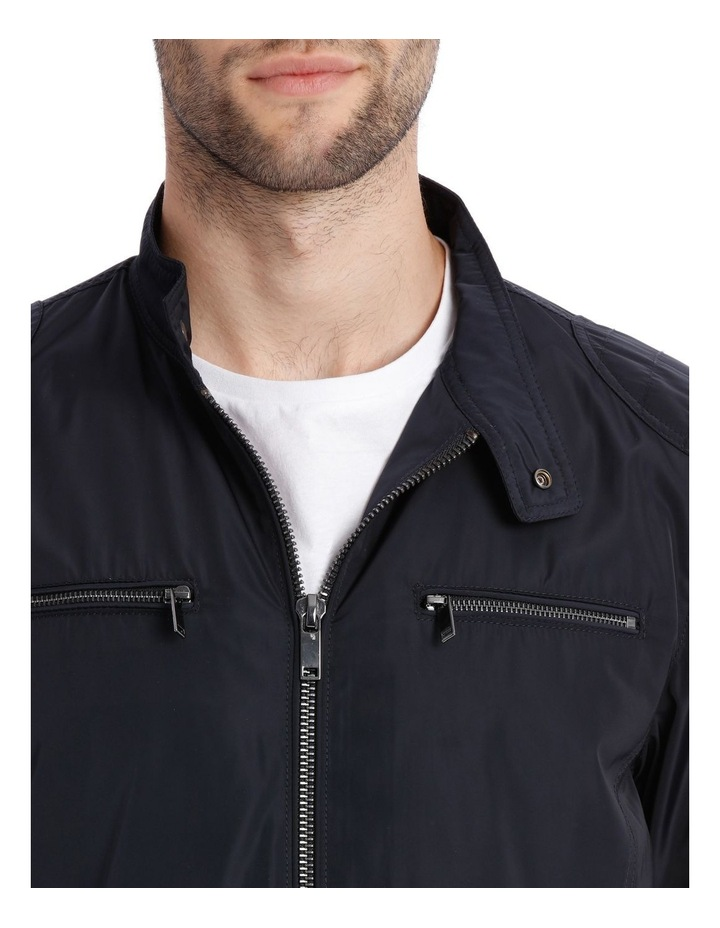 Navy Shoreditch Bomber Jacket image 4