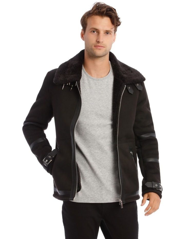 Leopold Sueded Aviator Jacket image 1