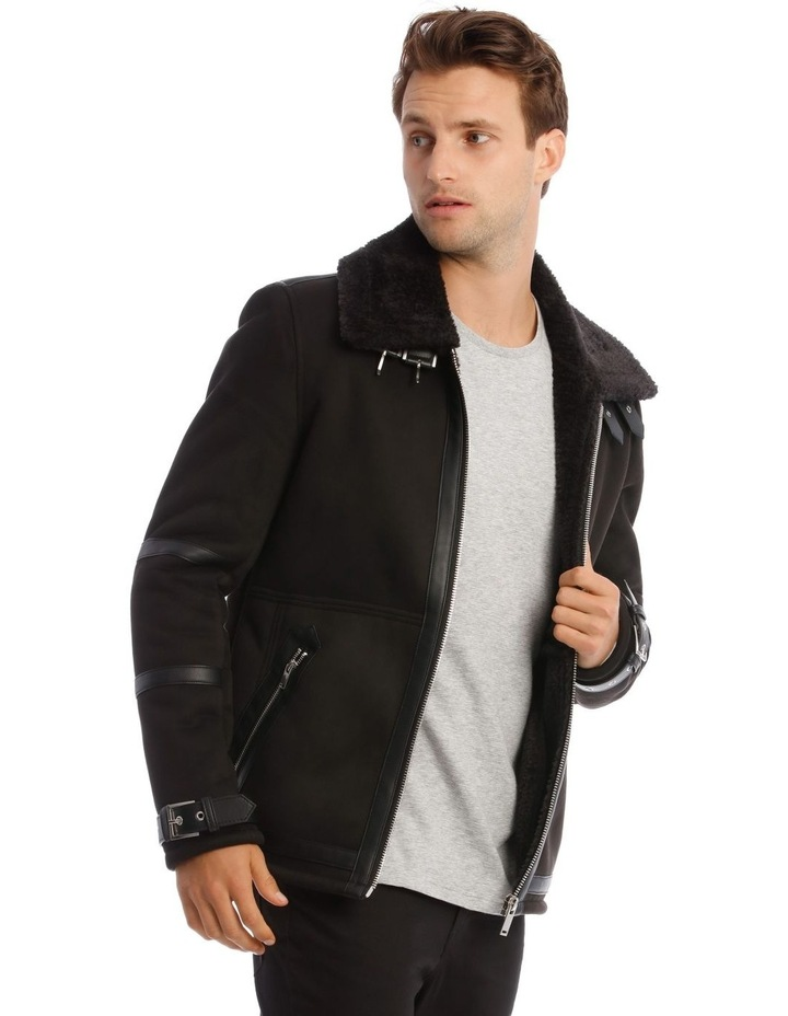 Leopold Sueded Aviator Jacket image 2