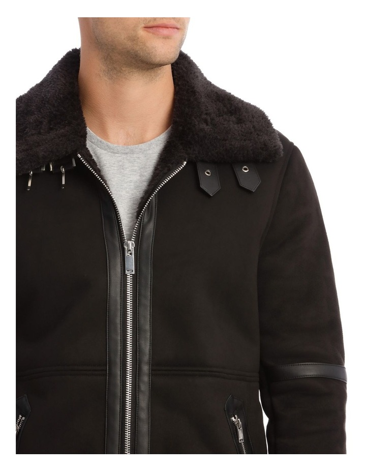 Leopold Sueded Aviator Jacket image 4