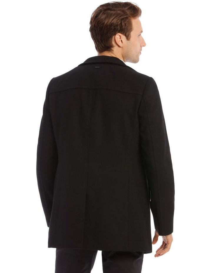 Belvedere Funnel Melton Coat image 3