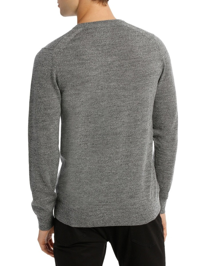 Jones Plain Merino Knit Steel MBW180001 image 3