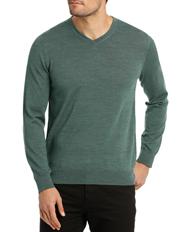 Blaq - Jones Plain Merino Knit Green MBW180001