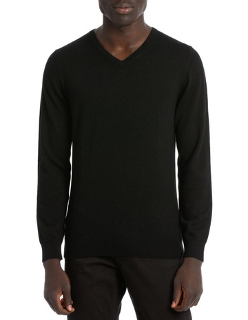 656d18f312303f Blaq JONES PLAIN MERINO KNIT