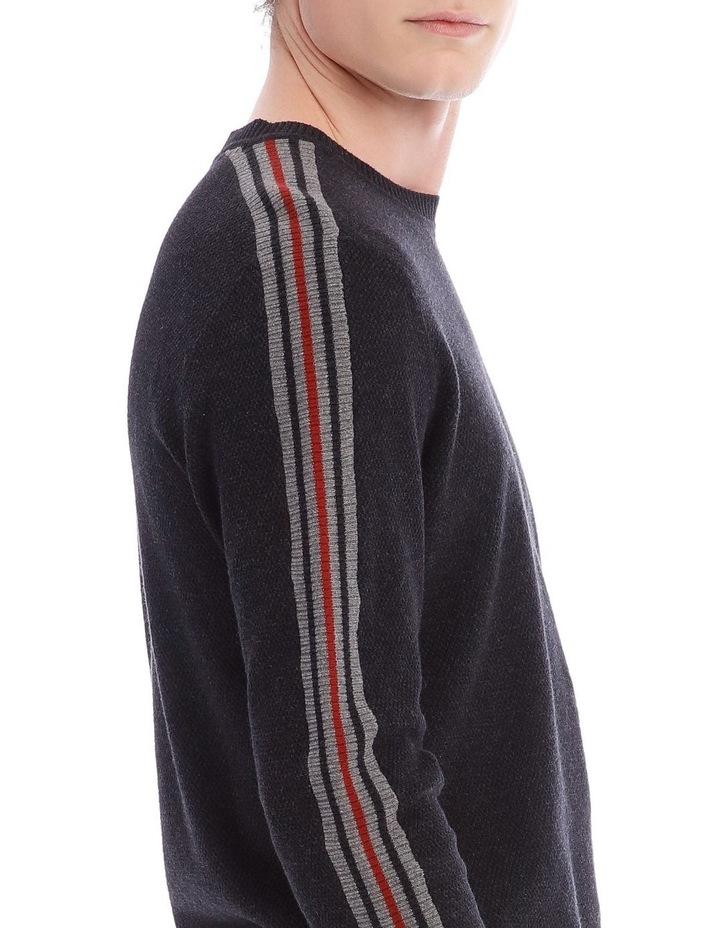 Wimbledon Stripe Crew Knit image 4