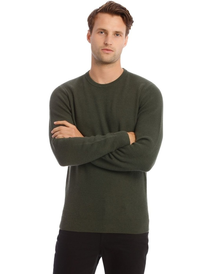 London 3.0 Textured Crew Knit Sweater image 1