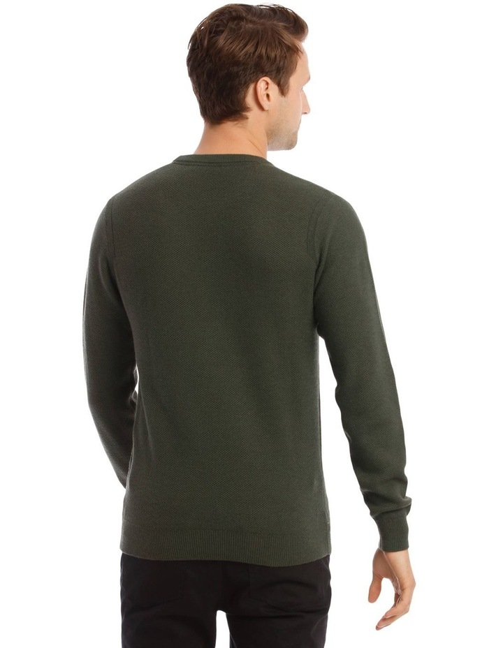 London 3.0 Textured Crew Knit Sweater image 3