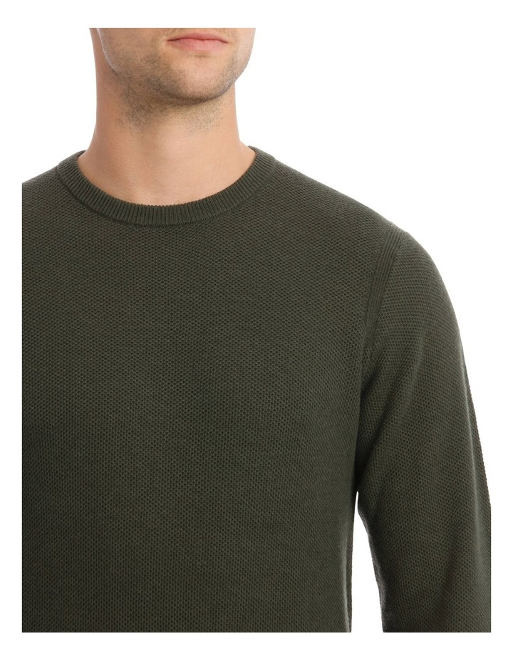 London 3.0 Textured Crew Knit Sweater image 4