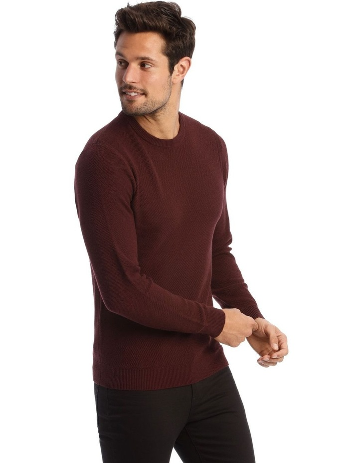 London 3.0 Textured Crew Knit Sweater image 2