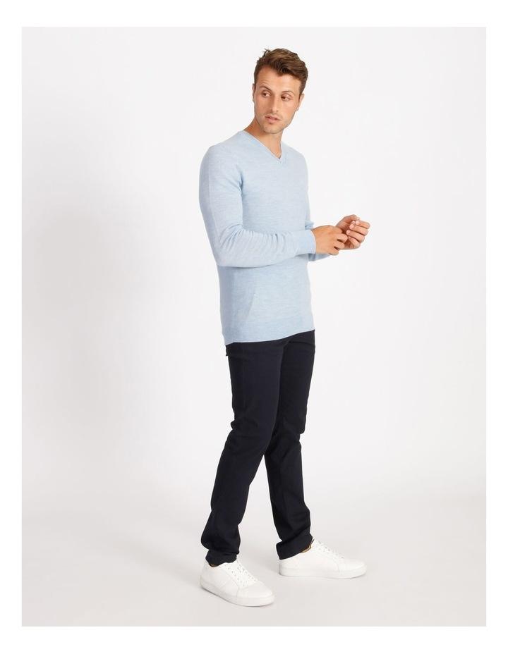 Plain Merino Knit - Blue image 2