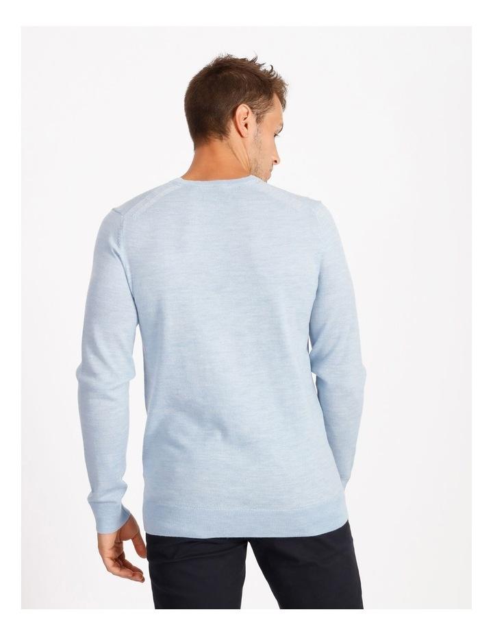 Plain Merino Knit - Blue image 3