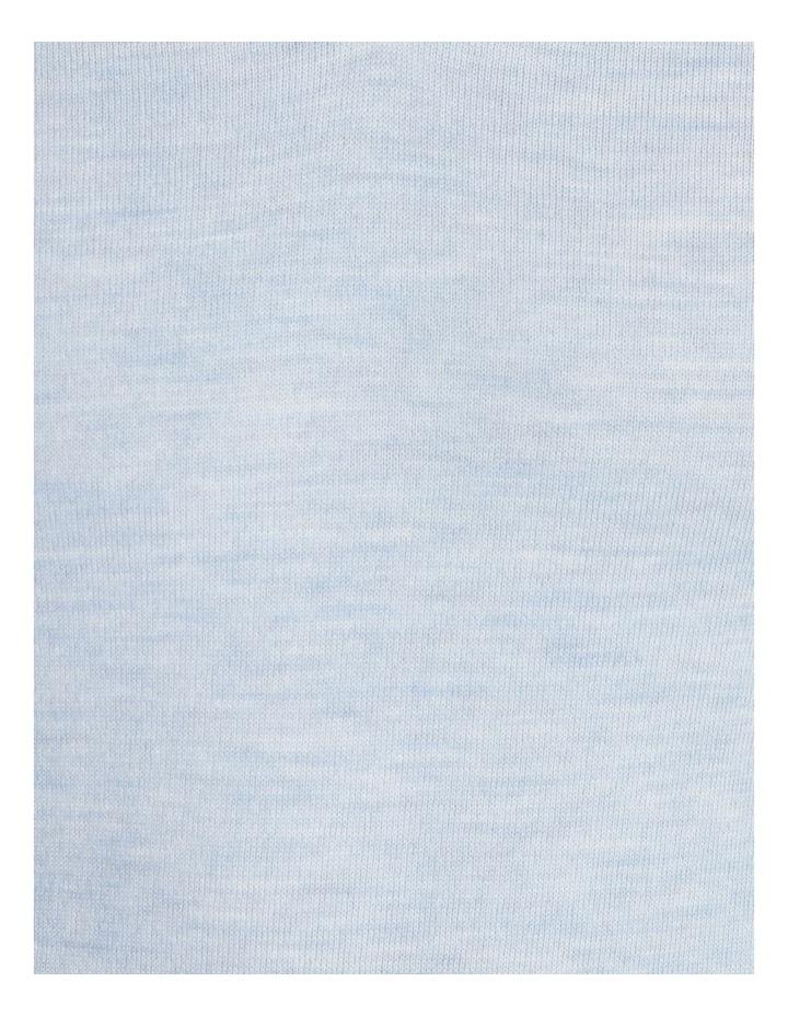 Plain Merino Knit - Blue image 5