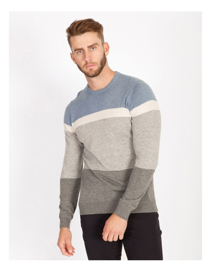 Campbell Block-Stripe Knit image 1