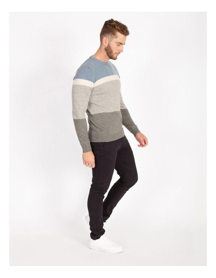 Campbell Block-Stripe Knit image 2