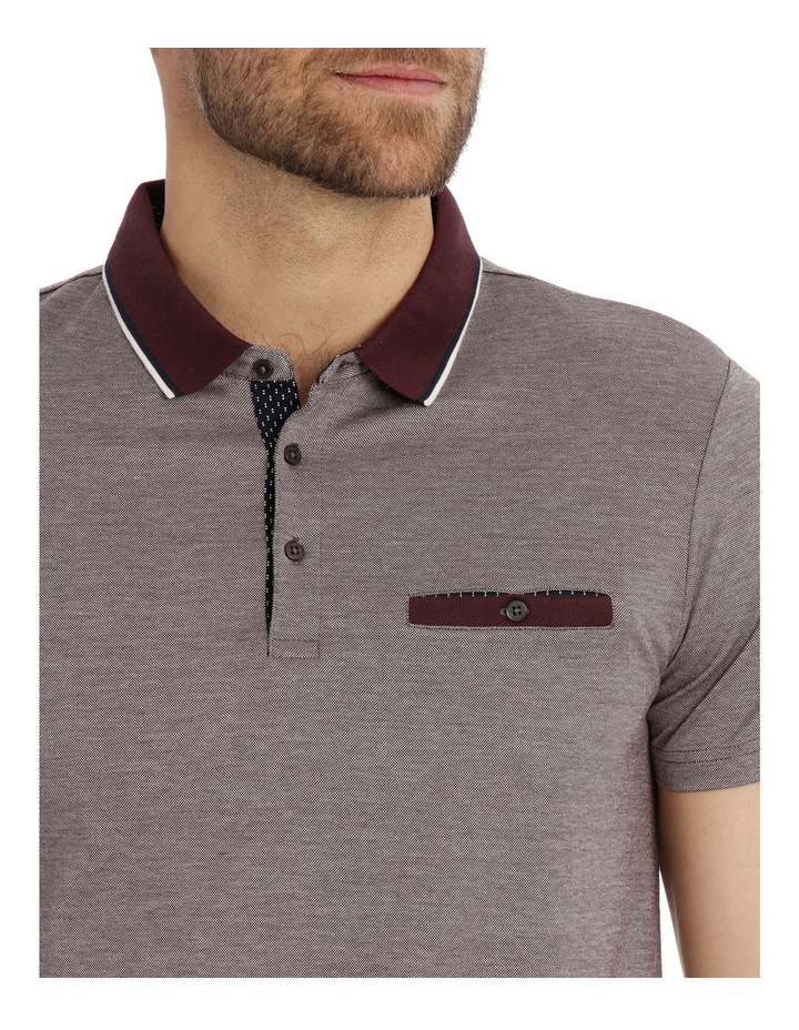 Lorath Textured Polo image 4