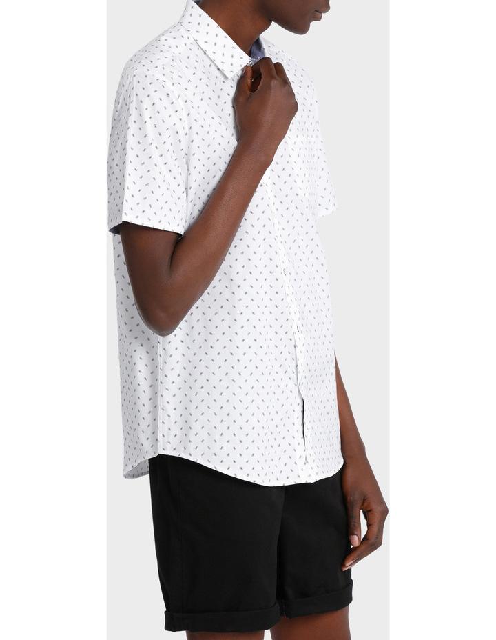 Miami Ditsy Print Short Sleeve Relaxed Shirt image 2