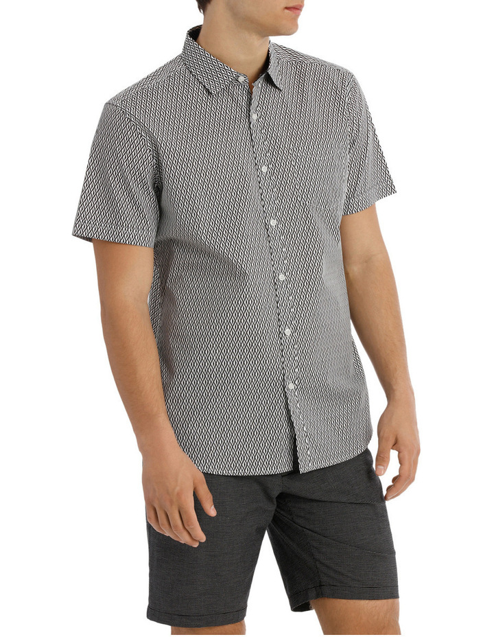 Belize printed relaxed short sleeve shirt image 2