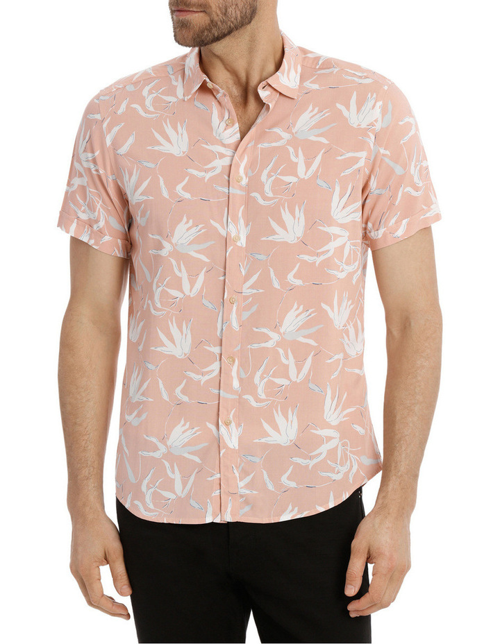 Brazil Floral Print Short Sleeve Relaxed Shirt image 1