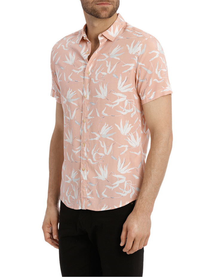 Brazil Floral Print Short Sleeve Relaxed Shirt image 2
