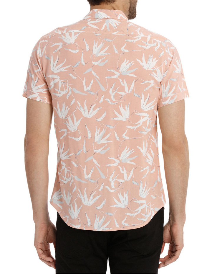 Brazil Floral Print Short Sleeve Relaxed Shirt image 3