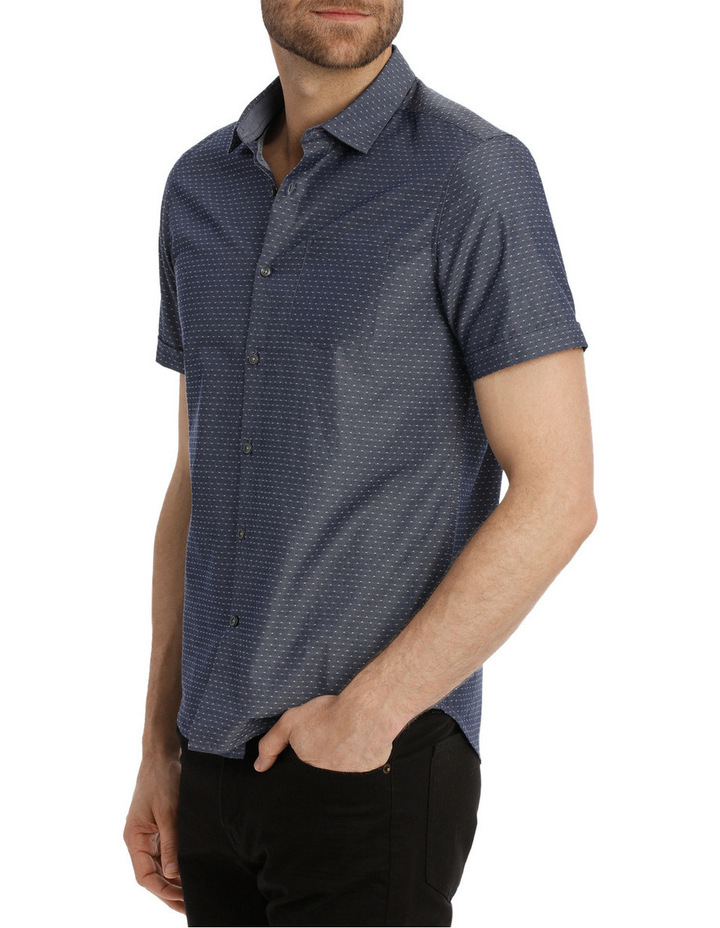 Bronn Chambray Relaxed Short Sleeve Shirt image 2