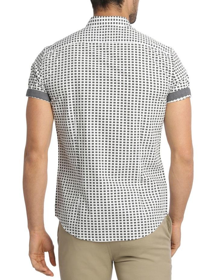 Belwas Printed Short Sleeve Slim Shirt image 3