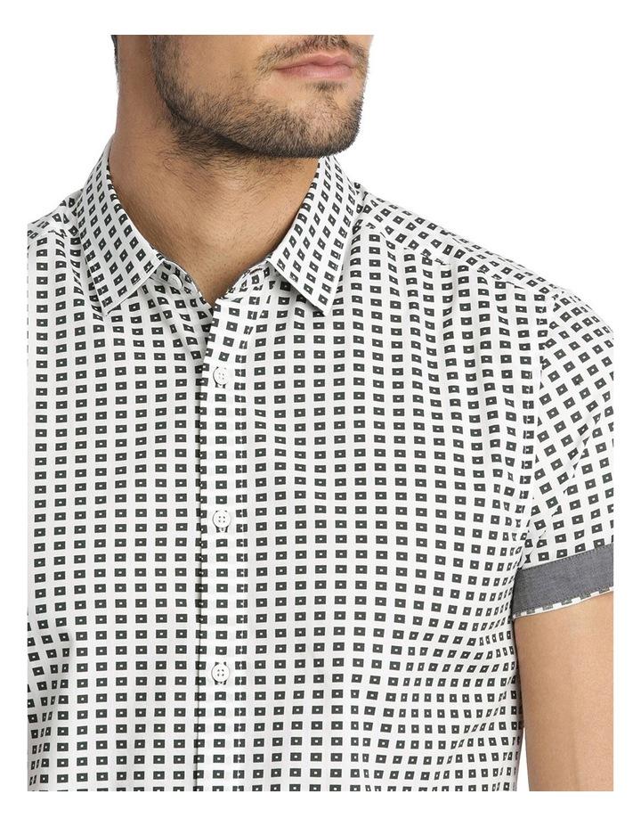Belwas Printed Short Sleeve Slim Shirt image 4