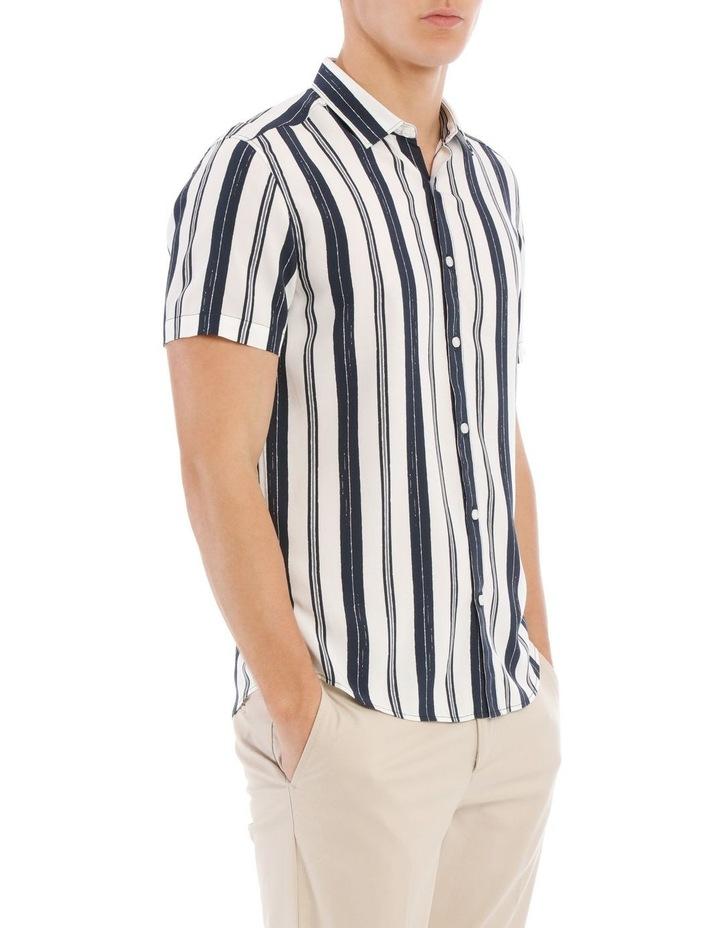Athens Stripe Short Sleeve Relaxed Shirt image 2