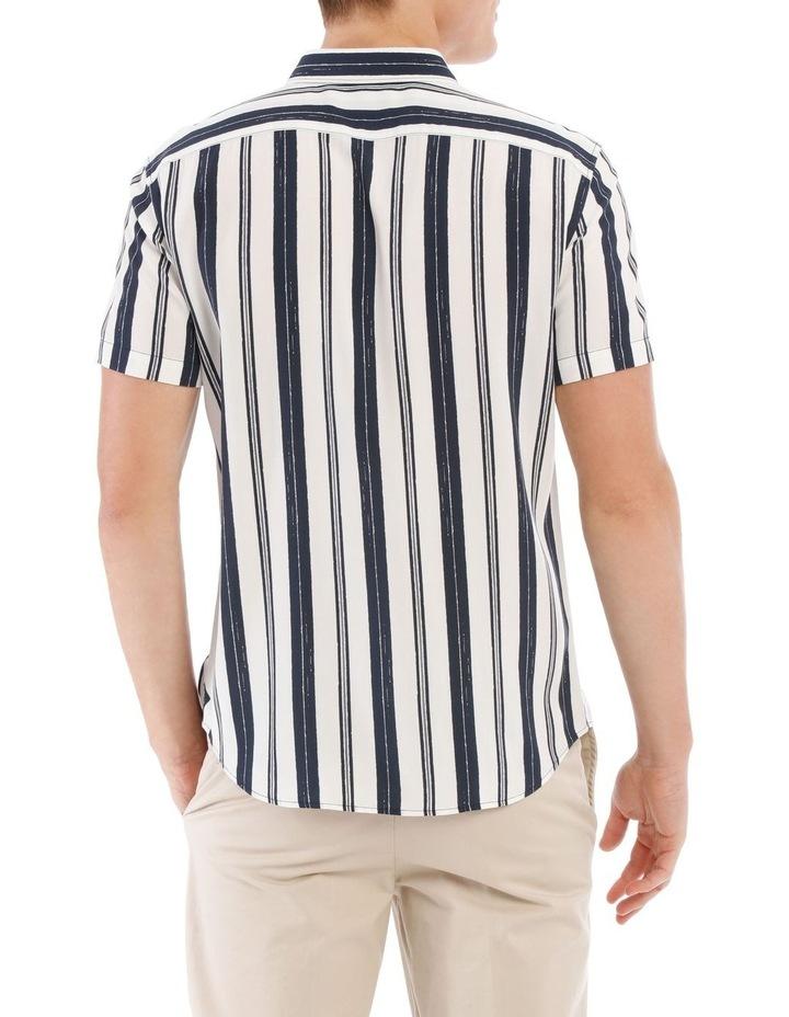 Athens Stripe Short Sleeve Relaxed Shirt image 3