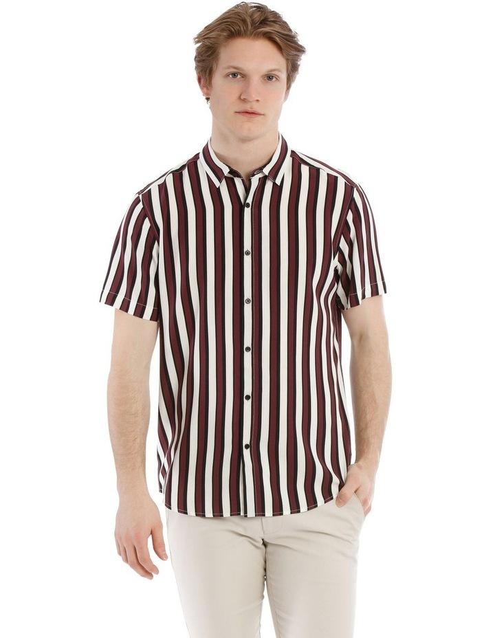 Scar Stripe Short Sleeve Relaxed Shirt image 1