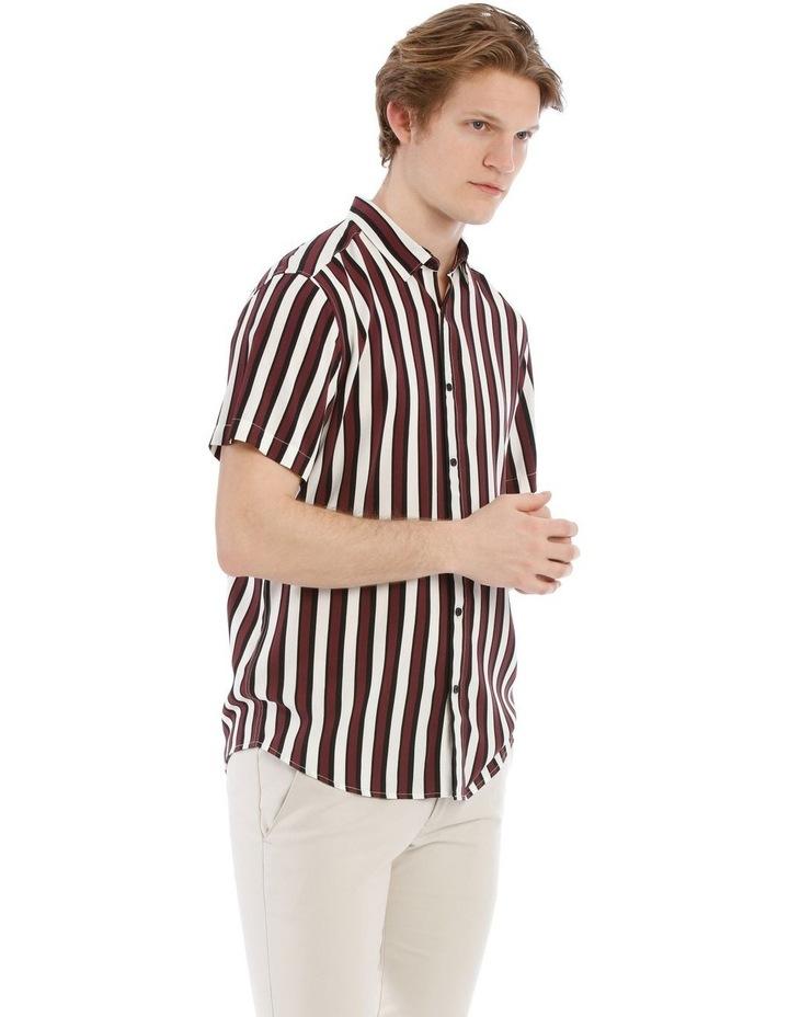 Scar Stripe Short Sleeve Relaxed Shirt image 2
