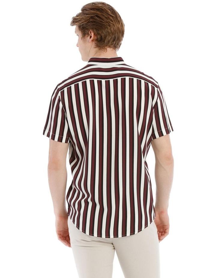 Scar Stripe Short Sleeve Relaxed Shirt image 3