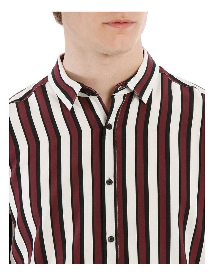 Scar Stripe Short Sleeve Relaxed Shirt image 4