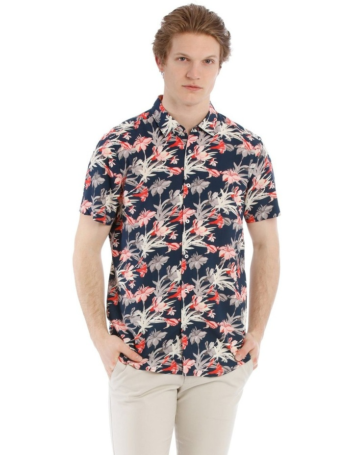 Picasso All Over Floral Short Sleeve Relaxed Shirt image 1