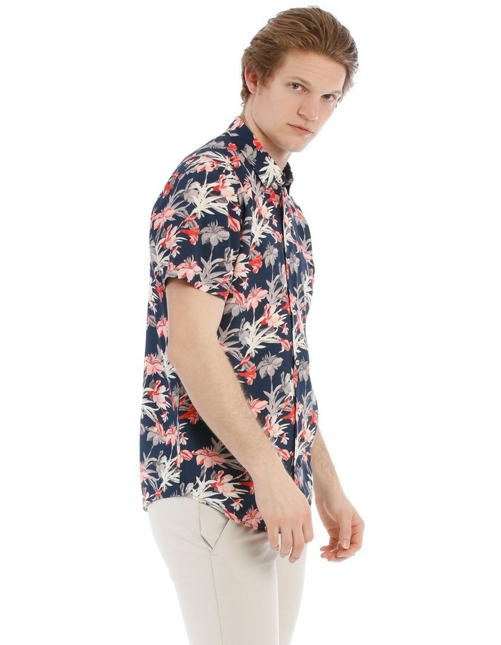 Picasso All Over Floral Short Sleeve Relaxed Shirt image 2
