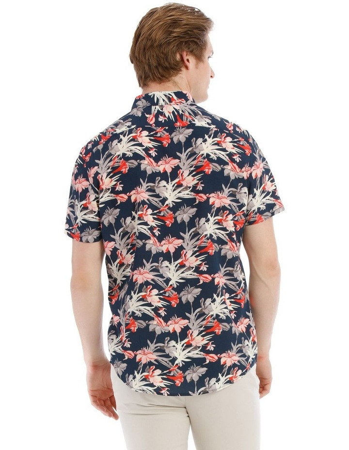 Picasso All Over Floral Short Sleeve Relaxed Shirt image 3