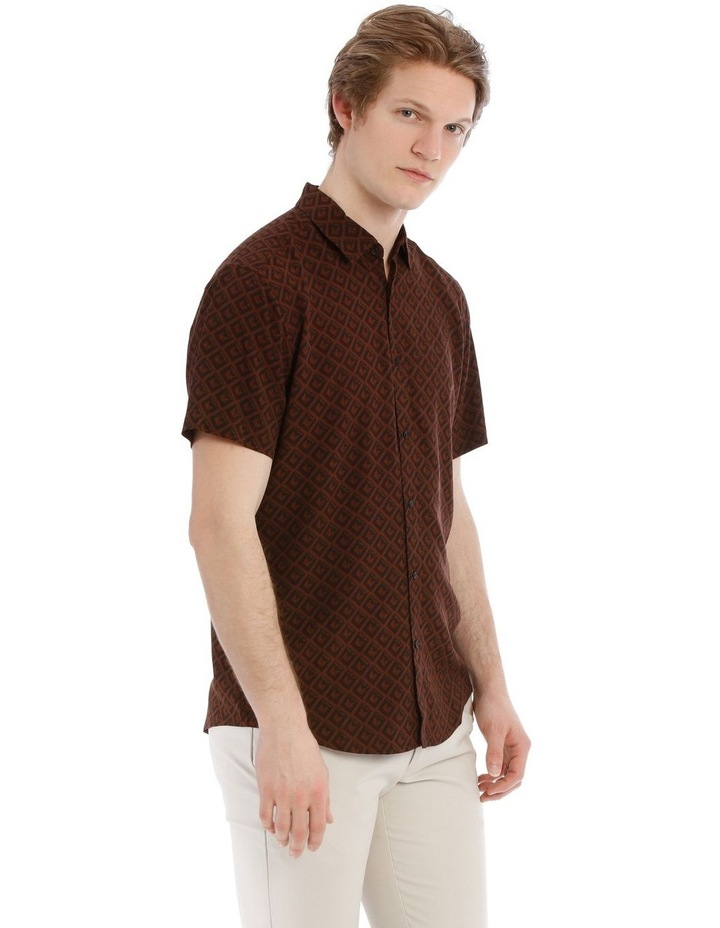 Tutsi Printed Short Sleeve Relaxed Shirt image 2