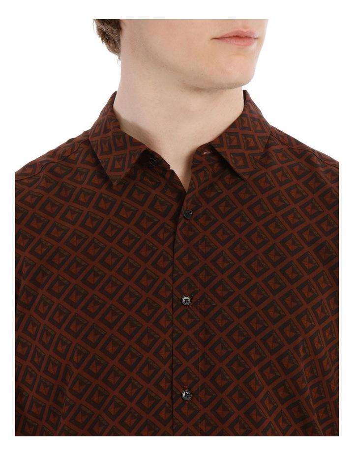 Tutsi Printed Short Sleeve Relaxed Shirt image 4