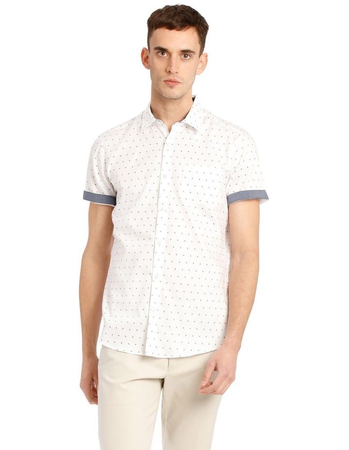 Malta Printed Relaxed Short Sleeve Shirt image 1