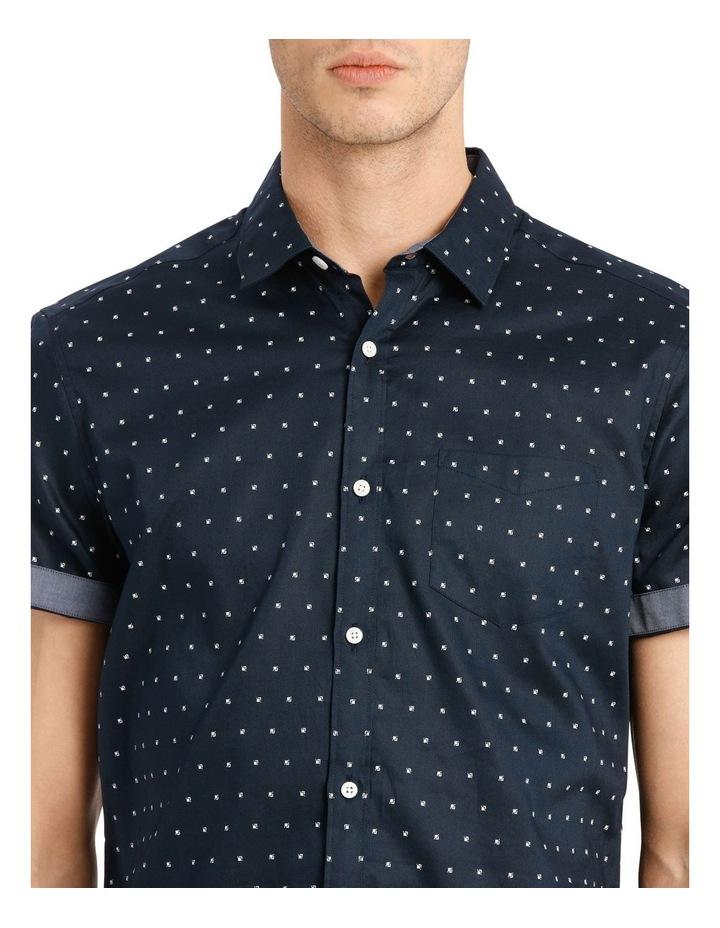 Malta Printed Relaxed Short Sleeve Shirt image 4