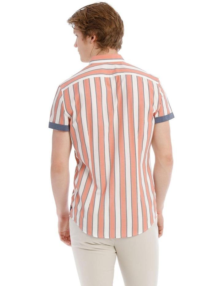 Santorini Stripe Short Sleeve Slim Shirt image 3