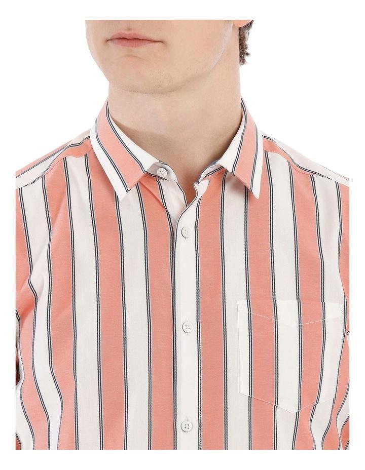 Santorini Stripe Short Sleeve Slim Shirt image 4
