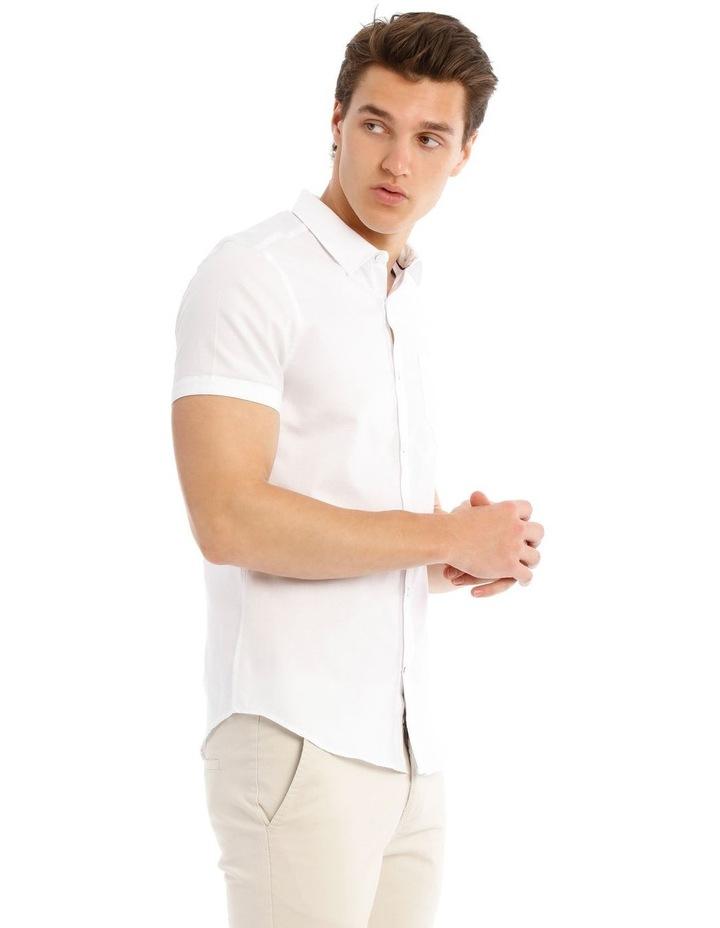 Cyprus Textured Short Sleeve Slim Shirt image 2